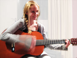 An acoustic student
